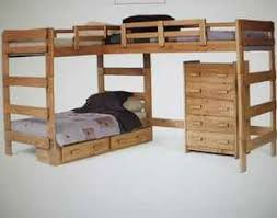 Plans For Triple Bunk Beds Free by L Shaped Bunk Beds Plans Pdf Woodworking