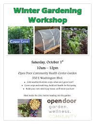 free winter gardening workshop u2013 tolowa dee ni u0027 nation