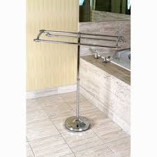Floor Towel Racks For Bathrooms by Free Standing Towel Bars Racks And Stands You U0027ll Love Wayfair