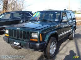 cherokee jeep 2001 2001 jeep cherokee sport 4x4 in forest green pearlcoat 624347
