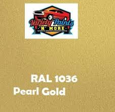 ral 1036 pearl gold custom mixed spray paint