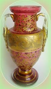 Antique Cranberry Glass Vase 320 Best Czech Cranberry Glass Images On Pinterest Cranberry