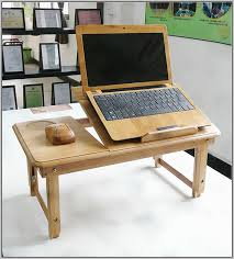 Laptop Desk On Bed Portable Laptop Desk Table Stand Bed Tv Tray Desk Home