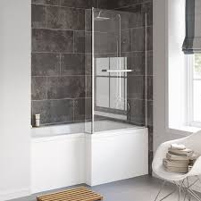 towel radiators showers mirror cabinets from soak 1500x850mm right hand l shaped bath with screen rail front panel excludes