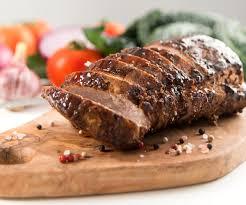cuisiner le roti de veau plat facile rôti de veau aux poivrons