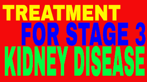 treatment for stage 3 kidney disease the info you need youtube