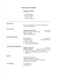 Sample Volunteer Resume by Volunteer Resume Template Resume Template With Volunteer