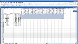 gantt chart with excel in 5 minutes part 1 2 youtube