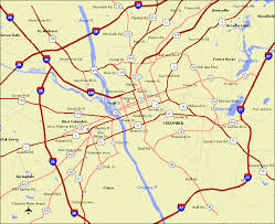 road map of south carolina map of south carolina state map of united states