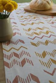 zig zag table runner zigzag table runner made good
