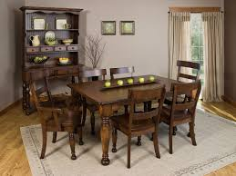 large amish made dining tables countryside amish furniture