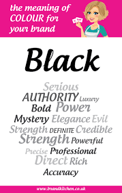 Meaning Of Pink The Meaning Of The Colour Black For Your Brand Brand Kitchen