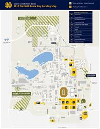 University Of Michigan Parking Map by Tickets Und Com The Official Site Of Notre Dame Athletics