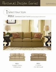 Standard Sofa Size by Personal Design Series Sof By Lexington Baer U0027s Furniture