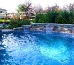 furniture surprising images about swimming pool waterfalls diy
