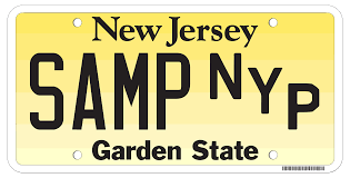 ny vanity plates state of new jersey motor vehicle commission