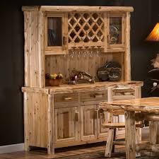cedar lake log dining tables and cedar dining room furniture