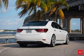 lexus sedan cars lexus ls white sedan cars vossen wheels wallpaper 1600x1066