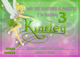 interesting tips and ideas in making tinkerbell invitations