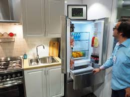 Haier French Door Refrigerator Price - haier u0027s new appliances take aim at small kitchens reviewed com