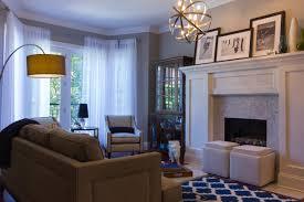 living room interior design portfolio inside chicago transitional