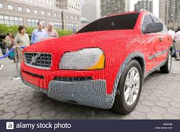 volvo cars usa full scale volvo xc90 car replica made of lego on display in new