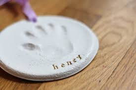 handprint ornament diy you re so martha