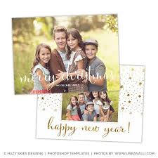 christmas card templates for photoshop templates for