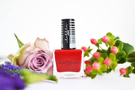 4 awesome nail shades for autumn lottie london red nail polish