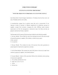 accounting procedures manual template finance policies procedures