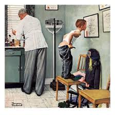 before the or at the doctor s march 15 1958 giclee print