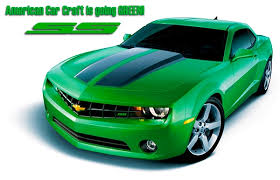 green camaro ss 2010 2011 2012 2013 camaro ss synergy green accessory package