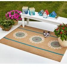 Diy Outdoor Rug Stenciled Rug Adds Excitement And Design To A Boring Deck