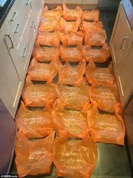 sainsburys kitchen collection sainsbury s deliver shopping order of 53 items in 23 bags daily