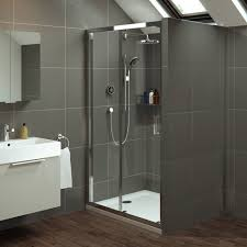 Shower With Door Mira Leap 1200mm Sliding Shower Door With Tray 1200mm X 900mm