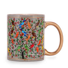 buy coffee mugs online india buy online paper mache coffee mugs set of 3 at cheapest price in