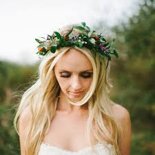 getting fullness on the hair crown 31 flower crown hairstyles for your wedding wedding channel