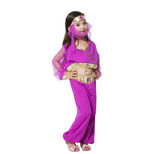 Belly Dancer Halloween Costume Free Shipping Party Supplies Childrens Princess Arabic Fancy Dress