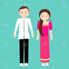 philippines traditional clothing for kids traditional costume clipart filipino person pencil and in color