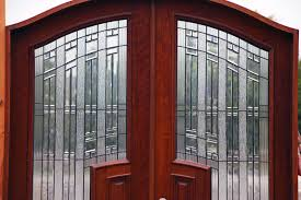Clear Glass Entry Doors by Double Doors With Glass