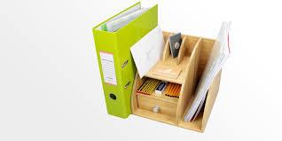 file holder for desk desktop file holder organiser bamboo stationery box office