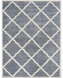 bluish grey savings on alliyah handmade bluish grey new zealand wool rug 10 x