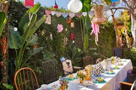 alice wonderland theme birthday party ideas