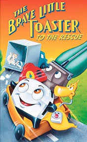 The Brave Toaster Amazon Com The Brave Little Toaster To The Rescue Vhs Thurl