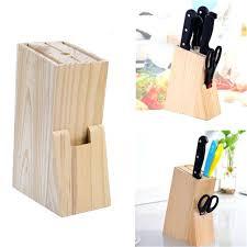 kitchen knives holder kitchen knife holder wood knife holder block scissor slot storage