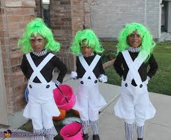 Oompa Loompa Halloween Costumes Adults Willy Wonka Oompa Loompas Halloween Costumes Photo 2 5