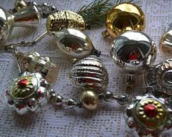 German Wooden Christmas Decorations Australia by Vintage Christmas Ornaments Etsy