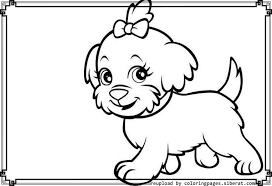 Puppy Coloring Pages Print Amazing Coloring Cute Puppies Drawings Puppy Color Pages