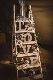 22 rustic country wedding decoration ideas with ladders page 2