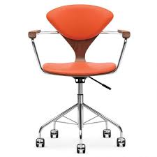 blue desk chairs arm chair adjustable office chairs with wheels orange office